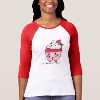 Petit gâteau rouge de velours d'EDO T-shirt