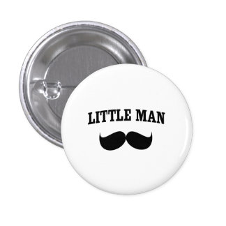 Petit homme badge avec épingle