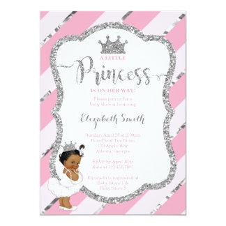 Petit invitation de princesse baby shower, parties