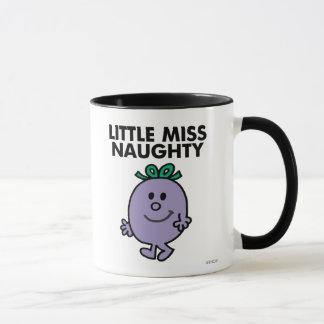 Petit lettrage noir de Mlle Naughty   Mug