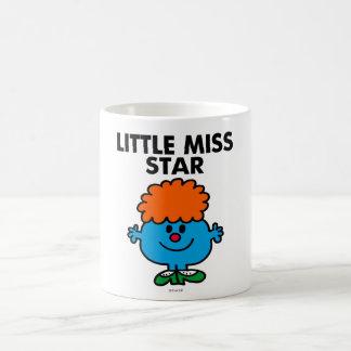 Petit lettrage noir de Mlle Star   Mug Blanc