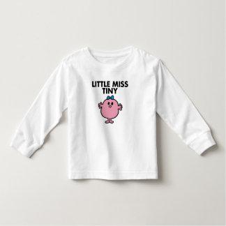 Petit lettrage noir de Mlle Tiny | T-shirt Pour Les Tous Petits