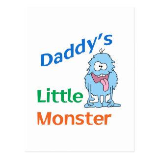 PETIT MONSTRE DE DADDYS CARTE POSTALE