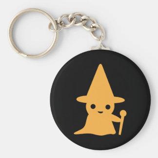 Petit porte - clé de magicien porte-clé rond
