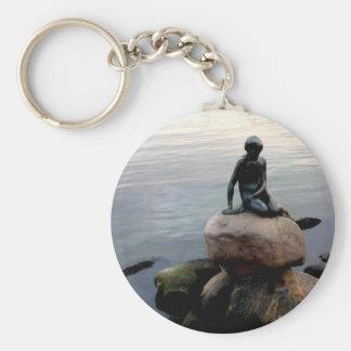 petit porte - clé de sirène porte-clé rond
