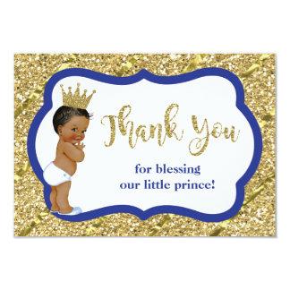Petit prince carte de remerciements, bleu, parties
