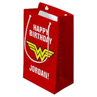Petit Sac Cadeau Anniversaire du logo | de femme de merveille des