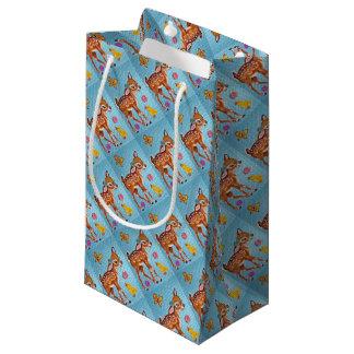 Petit Sac Cadeau Approvisionnements bleus chics minables