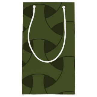 Petit Sac Cadeau Celtic géométrique répétant le motif moderne