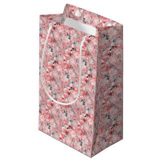 Petit Sac Cadeau flowers2bflowers et #flowers de motif d'oiseaux