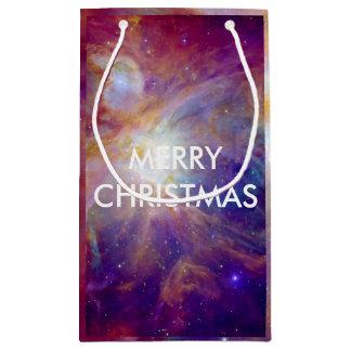 Petit Sac Cadeau La NASA rose de Fuschia de nébuleuse d'Orion