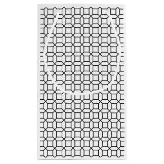 Petit Sac Cadeau Marque géométrique de motif d'art déco