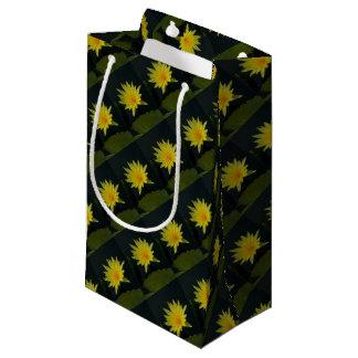 Petit Sac Cadeau Nénuphar jaune de Lotus