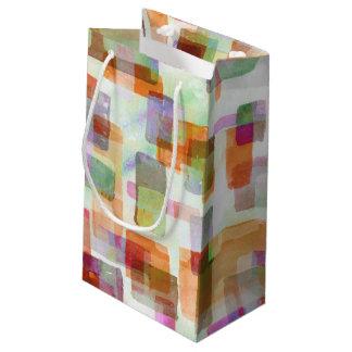 Petit Sac Cadeau Olive de citrouille de blocs constitutifs