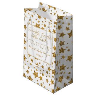 Petit Sac Cadeau Twink, scintillement peu de baby shower d'étoile