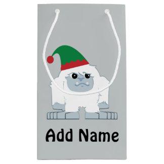 Petit Sac Cadeau Yeti mignon d'Elf de Noël