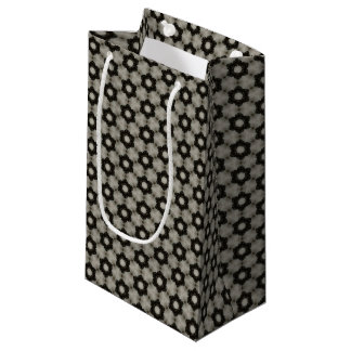 Petit sac de cadeau de motif rond de formes