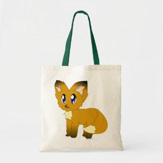 Petit sac fourre-tout délabré mignon à Fox