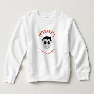 Petit sweatshirt d'ouatine d'enfant en bas âge du