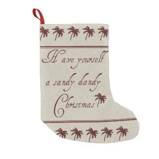 Petite Chaussette De Noël Ayez vous-même Noël de dandy de Sandy