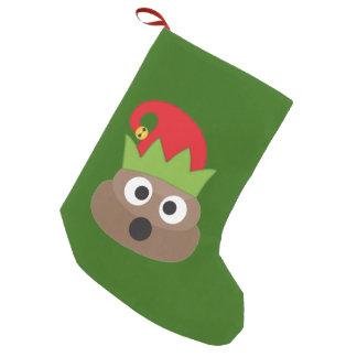 Petite Chaussette De Noël Bas drôle de Noël d'Emoji de dunette