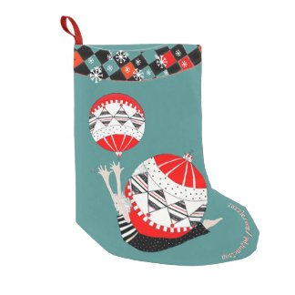 Petite Chaussette De Noël Bas vintage de cadeau de forme physique de Pilates