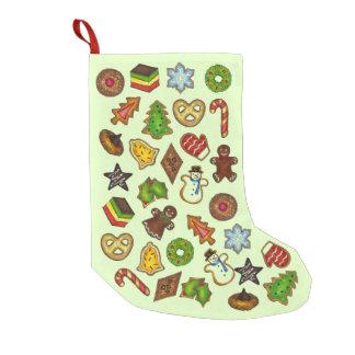 Petite Chaussette De Noël Biscuits de vacances de biscuit de sucre de Noël