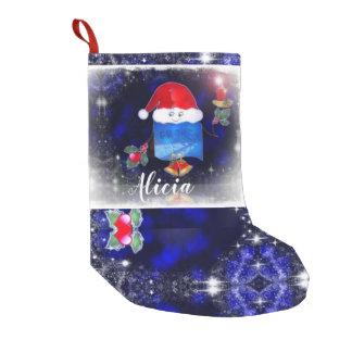 Petite Chaussette De Noël Bougeoir léger mignon de porteur