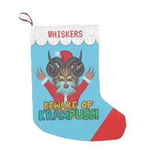 Petite Chaussette De Noël Calembour drôle de vacances de Krampuss d'humour