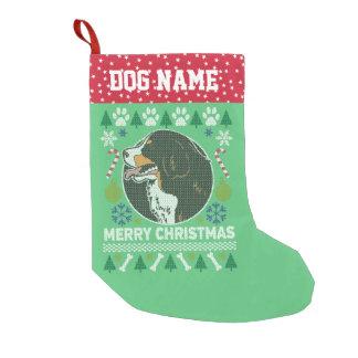 Petite Chaussette De Noël Chandail laid de Noël de race de chien de montagne