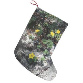 Petite Chaussette De Noël Fleurs de montagne