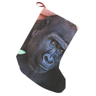 Petite Chaussette De Noël gorille impressionnant 1215P