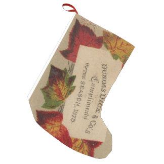 Petite Chaussette De Noël Les compliments de la saison