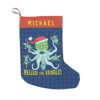 Petite Chaussette De Noël Libération drôle de Noël le Kringle le père noël