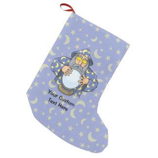 Petite Chaussette De Noël Magicien avec la boule