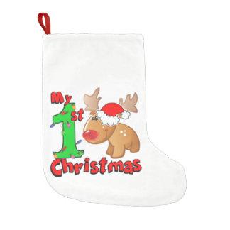 Petite Chaussette De Noël Mon ęr renne de Noël