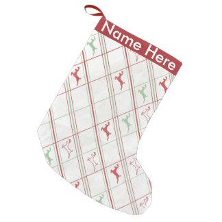 Petite Chaussette De Noël Motif de renne