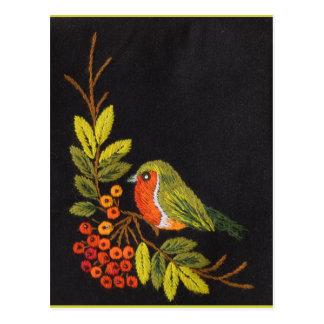 Petite collection d'oiseau carte postale