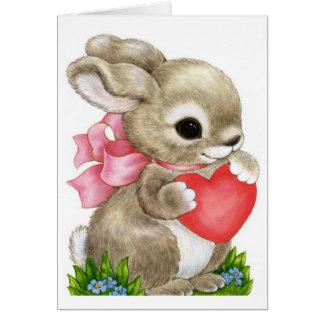 Petite-fille Valentine - carte de voeux