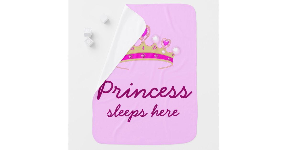petite princesse couverture de b b zazzle. Black Bedroom Furniture Sets. Home Design Ideas