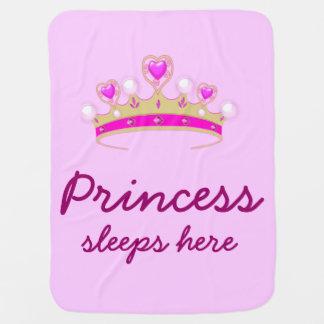 Petite princesse couverture pour bébé
