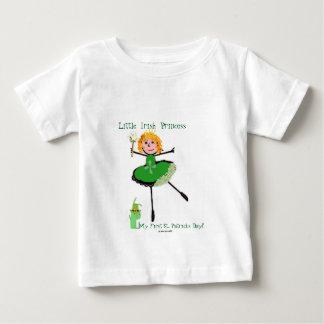 Petite princesse irlandaise - le jour de mon t-shirt pour bébé