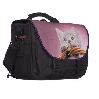 Petite séance de chaton sac pour ordinateurs portables