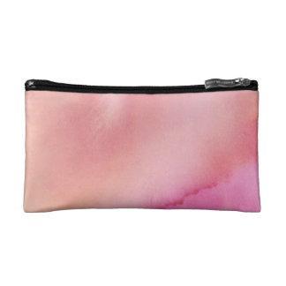 Petite Trousse De Maquillage Couleur pour aquarelle de marbre rose