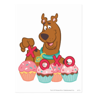 Petits gâteaux de Scooby Doo - de Scooby XOXO Carte Postale