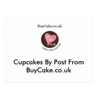 Petits gâteaux par courrier de BuyCake.co.uk Cartes Postales