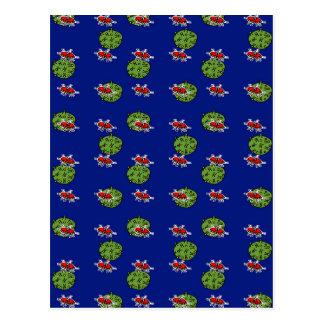 petits hommes verts et petites planètes vertes carte postale