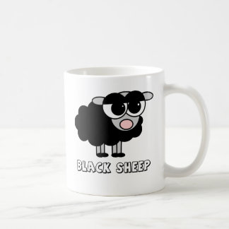 Petits moutons noirs mignons mugs