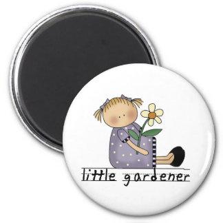 Petits T-shirts et cadeaux de jardinier Magnet Rond 8 Cm