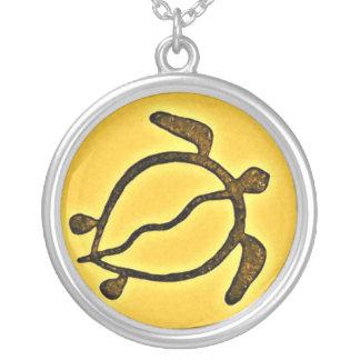 Pétroglyphe de bijoux de tortue de mer